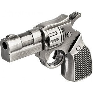 32 GB Metal Gun shape USB Flash drive]()