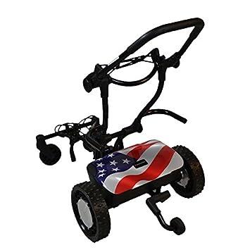 FTR Caddytrek R2 estrellas y rayas robótico eléctrico carro de golf carrito Trek: Amazon.es: Deportes y aire libre