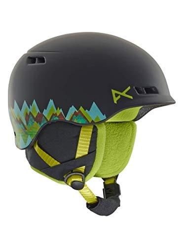 Anon 13330104041L\XL Burner Helmet, Scout Black, Large\X-Large