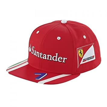 Ferrari cap hat baseball cap Scuderia Ferrari Kimi Räikönen Style Original  2017 6a92ad4302a