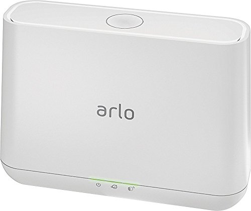 Arlo Pro VMS4430 Indoor/Outdoor HD Wire-Free Security System with 4 Cameras (White) (VMS4430-100NAR) (Renewed)