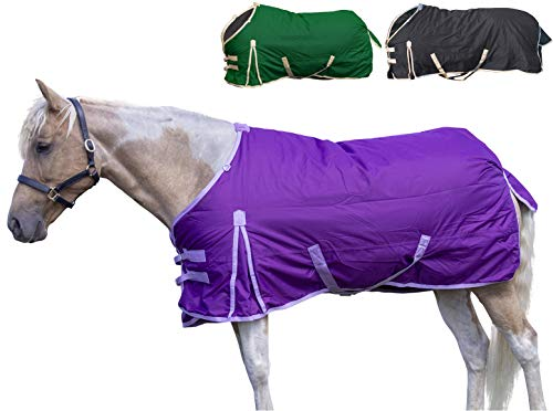 Derby Originals Deluxe Series 600D Ripstop Waterproof Medium Weight Winter Turnout Horse Blanket