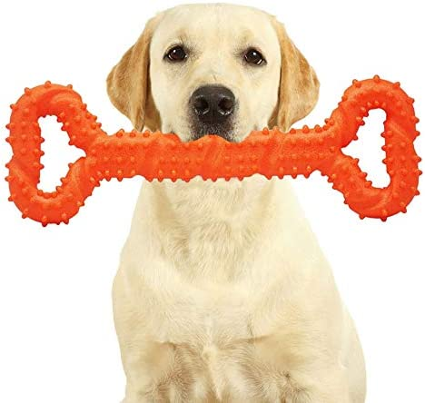 Dog Toys for Aggressive Chewers Large Breed Indestructible, Tough Dog Chew Toys, Safe Durable Dog Bones for Large Dogs, Puppy Toys for Teething, Interactive Dog Toys Large Breed Not Easily Torn
