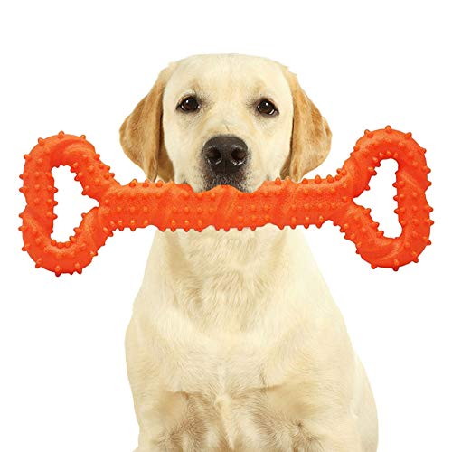 Dog Toys for Aggressive Chewers Large Breed Indestructible, Tough Dog Chew Toys, Safe Durable Dog Bones for Large Dogs…