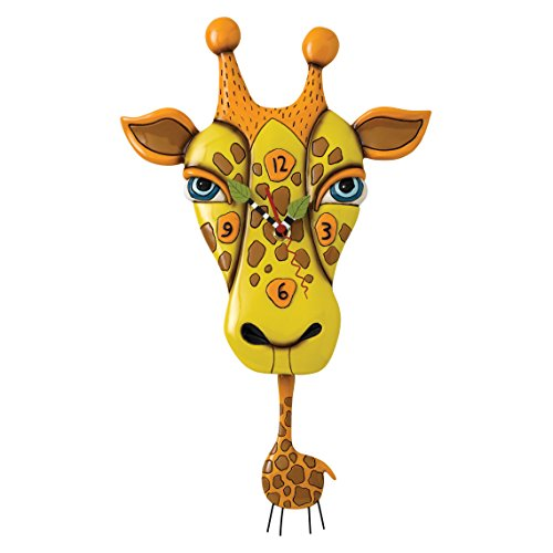 Allen Designs Jaffy Giraffe Pendulum Clock