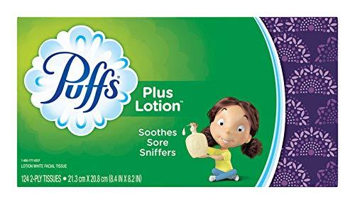 Gamble Puffs Facial Tissue - Puffs Facial Tissue 124 Count
