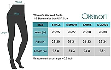 Casual ONGASOFT Womens High Waist Printed Leggings Running Tummy Control Yoga Leggings for Workout