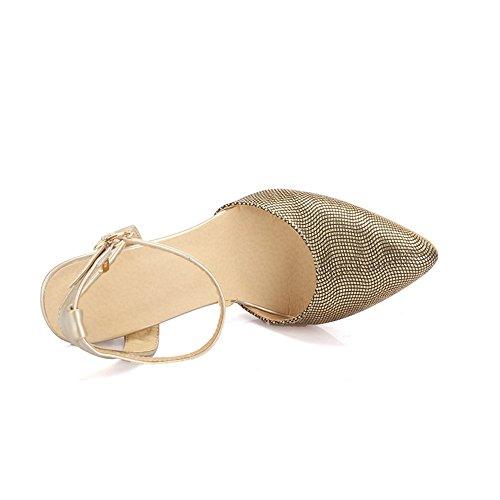 Fashion Heel - Zapatos de tacón  mujer dorado