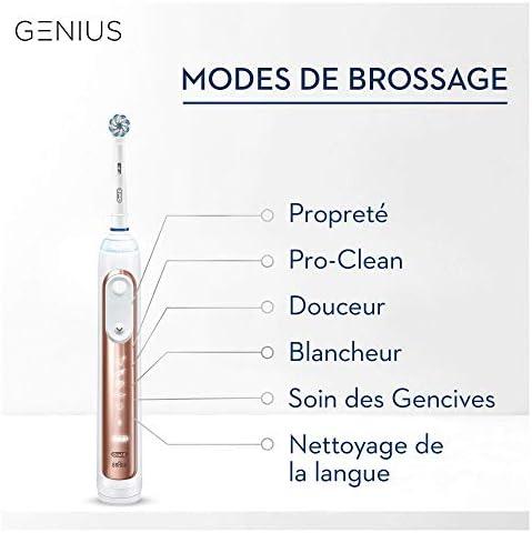 Oral-B Genius Édition Limitée, Brosse À Dents Électrique, Or Rose