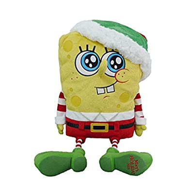 2014 Macy's Thanksgiving Day Parade Holiday Spongebob Square Pants Toy with Finger Puppets: Home & Kitchen