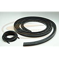 Front Door Glass Seal & Cord for Bobcat Skid Steers | Replaces OEM # 6665568 & 6554149