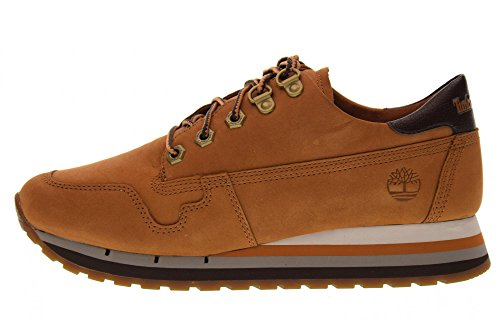 TIMBERLAND women's shoes A1J4P sneakers Ruggine nFelT3