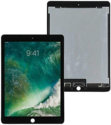 Aukilus LCD Display Screen Replacement Digitizer Glass Assembly for ipad pro 9.7 Parts (Black)