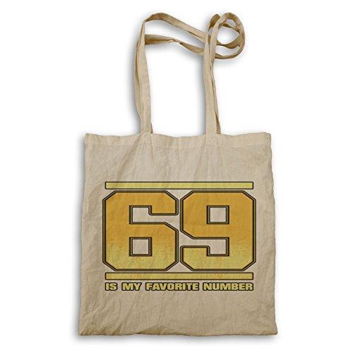 69 Ist Meine Lieblingszahl Tragetasche r917r