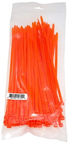 Orange Tie Wraps - Cambridge Cable Ties 8