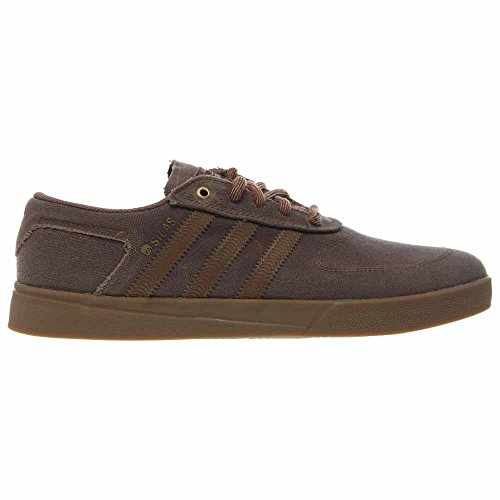 Adidas Silas Vulc Adv Cartone / Cartone / Gomma 4 Scarpe Da Skate Tan