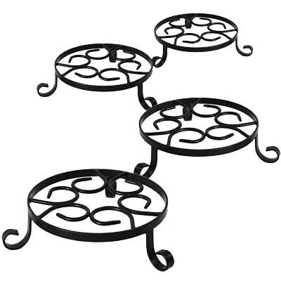 Panacea Olde World Forged Pot Trivets, 8