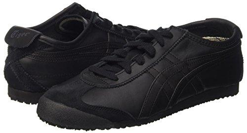 Asics black black Unisex Sneaker Mexico Nero – Adulto 66 UrRUW0wq