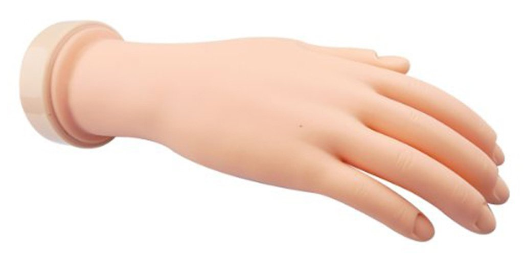 Amazon.com : Flexible Soft Plastic Flectional Mannequin Model Hand ...
