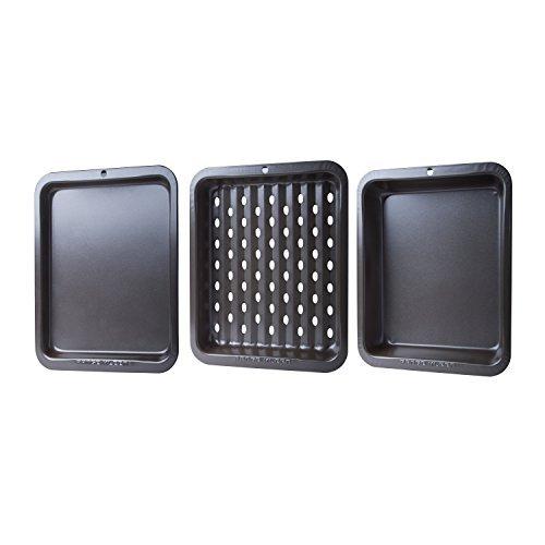 Range Kleen BW5 3 Piece Bakeware Toaster Oven Set 8 Inches b