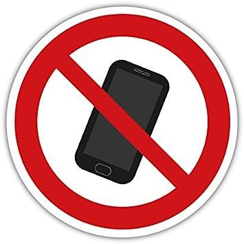 Adhesivo para Smartphone (Prohibido el teléfono móvil, 20 cm, sin ...
