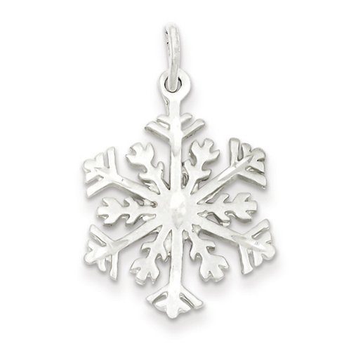 IceCarats® Designer Jewelry Sterling Si - Diamond Cut Snowflake Pendant Shopping Results