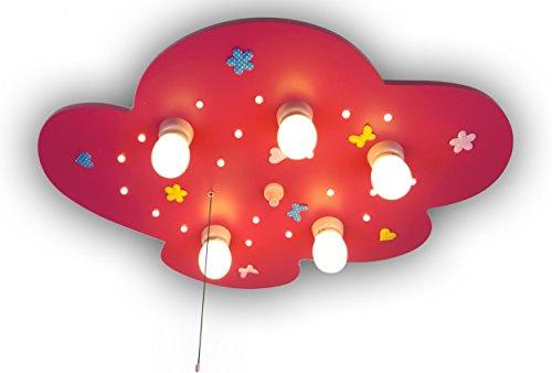 Niermann Standby Ceiling Lamp LED, Purple by Niermann Standby