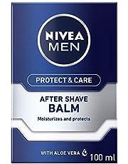 NIVEA MEN Protect & Care After Shave Balm, Aloe Vera & Provitamin B5, 100ml