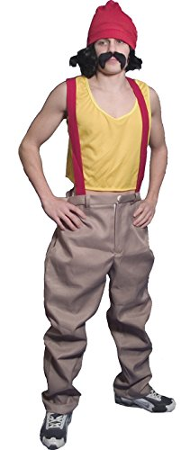 Cheech Deluxe Adult Costume Size (Incogneato Cheech And Chong Costumes)