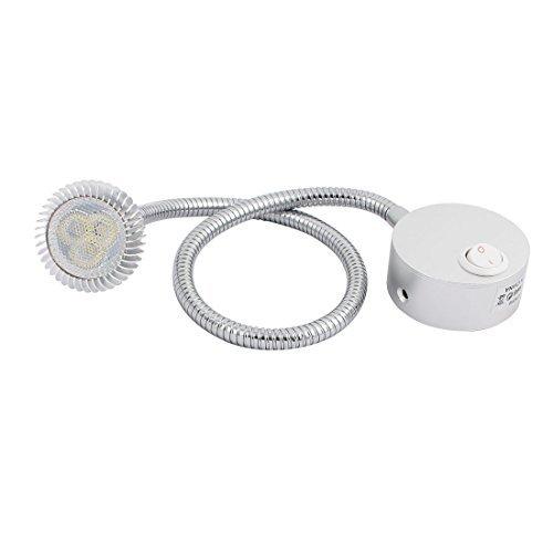eDealMax AC85-265V 31W 3000K 50CM Flessibile LED Spot Light Lamp w Interruttore
