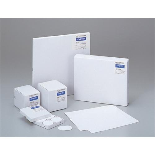 Advantec MFS GA5525MM Fiber Filter, Water Quality Testing, Grade GA55, 25 mm Diameter, 0.21 mm Thickness, 0.45 Borosilicate Glass, White (Pack of 100) by ADVANTEC MFS
