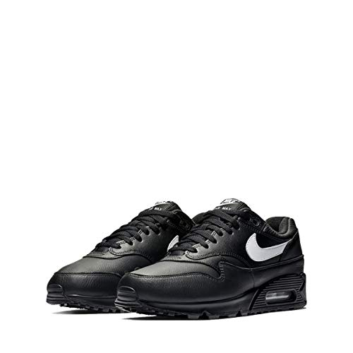 Nike Mens Air Max 90/1 Running Shoes Black/White AJ7695-001 Size ()