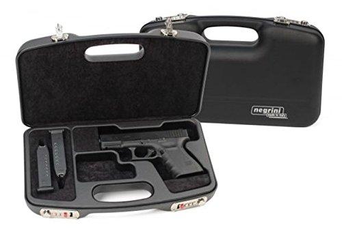 Negrini Dedicated Glock Style Handgun Case - 2028SR/5511 Negrini of Italy