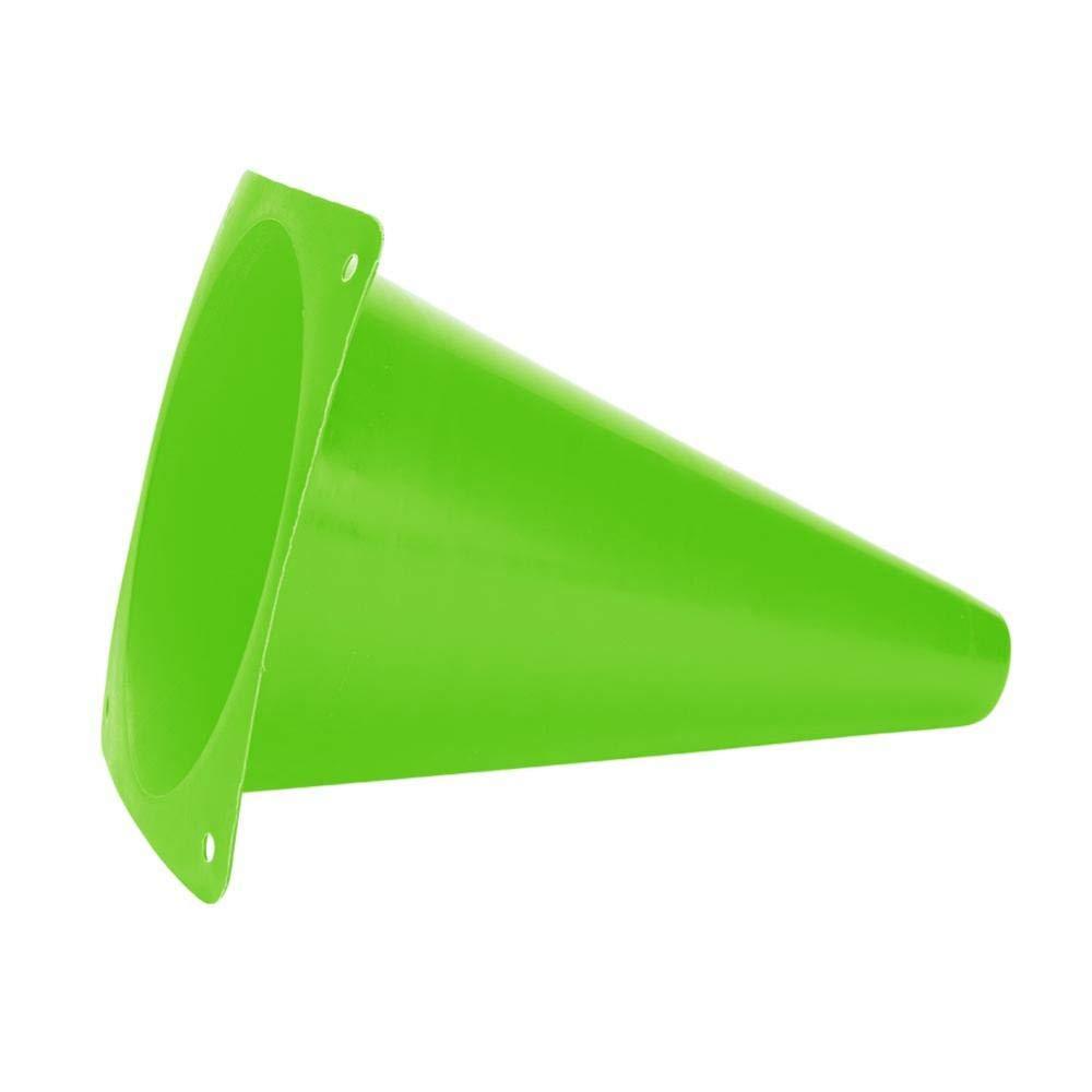 Tbest Juego de Conos f/útbol Conos Deportes,6 Pcs18 cm Soccer Training Cono F/útbol Barriers Plastic Marker Holder Accesorio para ni/ños Deportes Adultos Speed Agility Training Practice