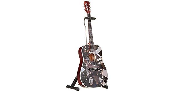 Axe Heaven: Beatles Abbey Road Fab Four Tribute Miniature Guitar Model. para Guitarra Electrica: Amazon.es: Instrumentos musicales
