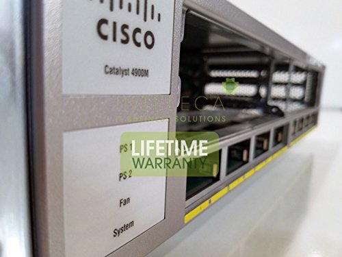 CISCO CATALYST WS-C4900M SWITCH W/ DUAL x2 PWR-C49M-1000AC from Unknown
