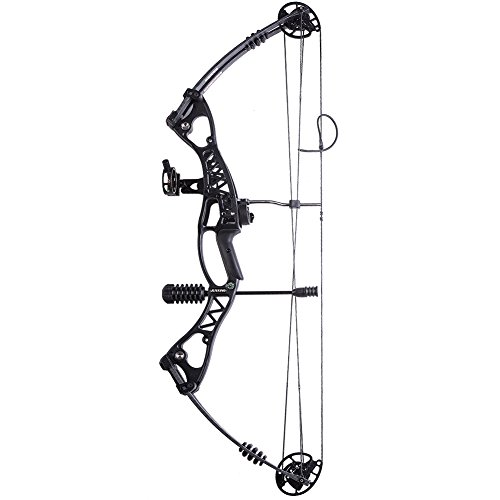ATROPOS-106 Black Archery Hunting Compound Bow Right & Left Hand Bow, 40-60lbs Draw Weight