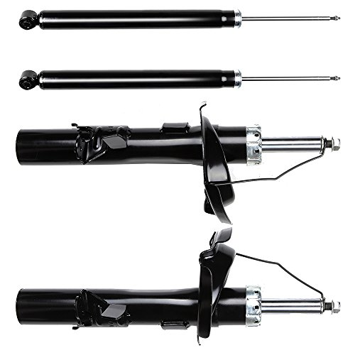 (SCITOO Shocks, Front Rear Gas Struts Shock Absorbers fit 2012 2013 Ford Focus 72522 72522 72523 72523 5645 5645 Set of 4)