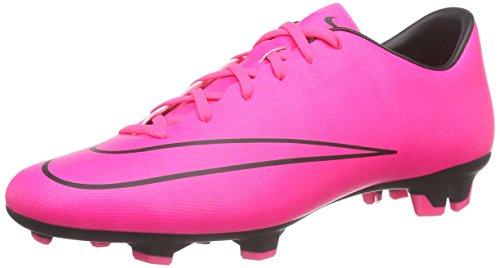 Nike Mercurial Victory V FG Herren Fußballschuhe Pink (Pink/Schwarz)