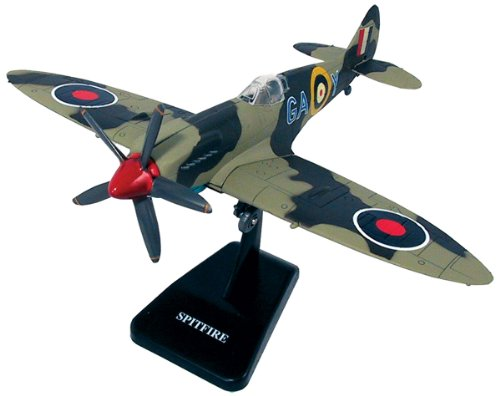 SPIT FIRE Royal Air Force WWII Fighter Plane Plastic Model Assembly Kit NewRay (Air Force Fighter Kit)