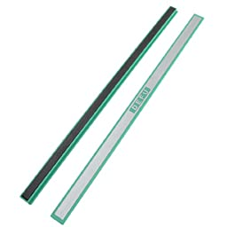 uxcell Office Green Plastic White Board Magnetic Stripes Tape Bars 12\