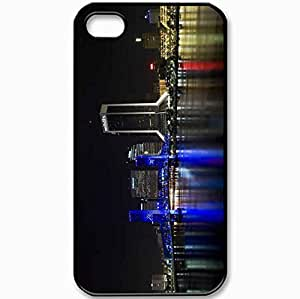 Protective Case Back Cover For iPhone 4 4S Case City Black