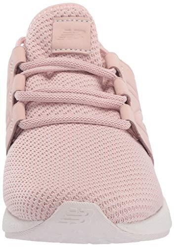 New Balance Women's Fresh Foam Cruz V2 Sneaker, Oyster Pink/Pink Mist/Nubuck, 10.5 B US