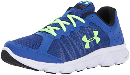 Image of the Under Armour Boys' Grade School Micro G Assert 6 Sneaker, Royal (400)/White, 5.5