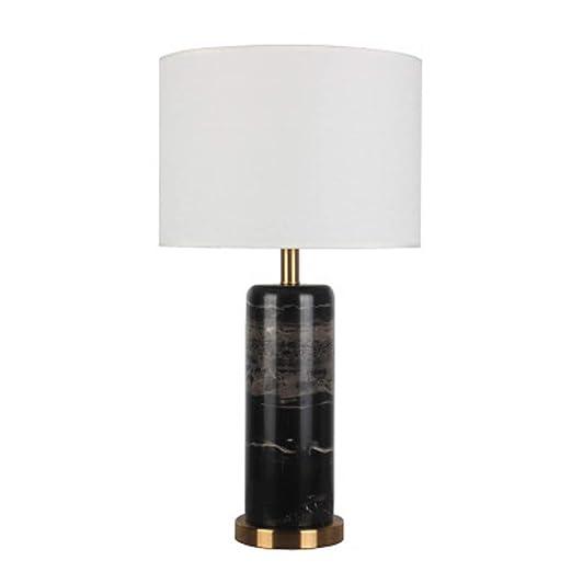beige creativa mármolpantalla de lino Lámpara de mesa de ZTlkXiwuOP