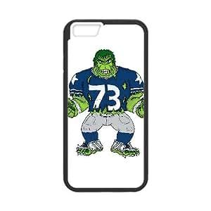 Dallas Cowboys iPhone 6 Plus 5.5 Inch Cell Phone Case Black 218y3-176888