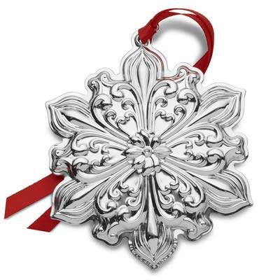 (Towle 2019 Old Master Snowflake-30th Anniversary Edition Holiday Ornament, Metal)