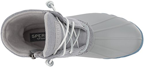 Blue Grey Saltwater Rain Outsole Pop Sperry Top Sider Boot Women's T8qtzwaFUH