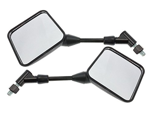 Spiegel Paar Schwarz f/ür Suzuki