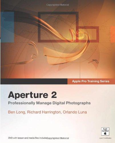 Apple Pro Training Series: Aperture 2